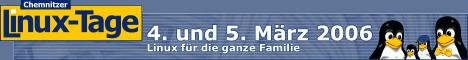 Chemnitzer Linux-Tage - 4. und 5. Maerz 2006