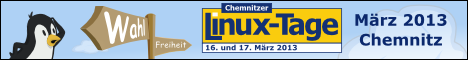 Chemnitzer Linux-Tage 16./17. März 2013