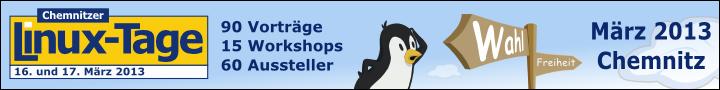[Chemnitzer Linux-Tage 16. und 17. März 2013]