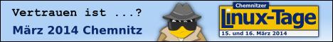 Chemnitzer Linux-Tage 2014 - 15. und 16. Maerz 2014