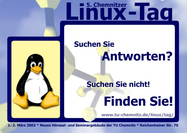 5th Chemnitzer Linux-Tag - 1st and 2nd March 2003