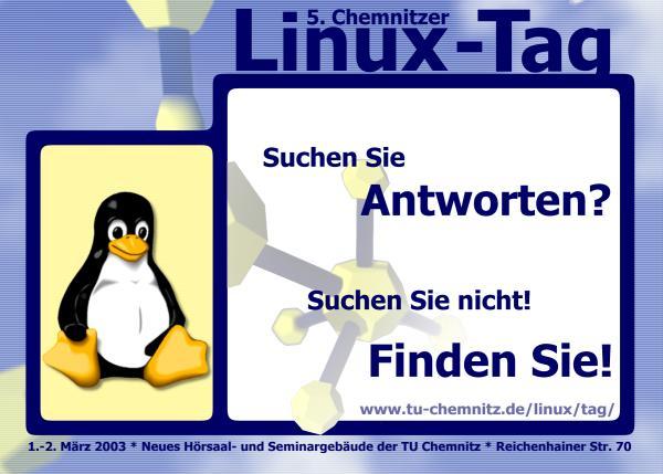 5. Chemnitzer Linux-Tag - 1. und 2. März 2003