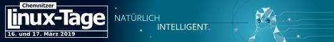 Chemnitzer Linux-Tage 2019 - 16. und 17. März 2019